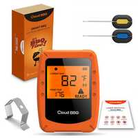 Wireless Smart Meat Thermometer 2 Probes Bluetooth/WiFi For IOS Android Digital Thermometer