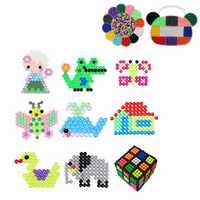 3000pcs Bear Head/Plum DIY Fuse Beads Water Beads Sticky Beads Art Craft Toys Kids