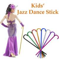 65cm Children Kids Jazz Dance Stick Rob Crutch Belly Dance Stage Performance Supplies