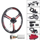 Les plus populaires 26'' 36V 300W Electric Bicycle Rear Wheel Hub Motor E-Bike Cycling Conversion Kit 25KM/H