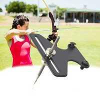 Recurve Bow Sight Kit 1Pin Simple Single T Needle Takedown Archery Hunting
