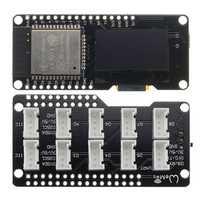 Wemos® ESP32 OLED Module For Arduino ESP32 OLED WiFi+bluetooth Dual ESP-32 ESP-32S ESP8266 OLED Module With ESP8266 Expansion Plate