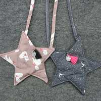 Children 3D Star Cartoon Crossbody Cute Casual Shoulder Bag for Kindergarten Kids