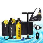 Prix de gros DCCMS DS-810 8pcs/set 1L Portable Diving Oxygen Tank Divers Spare Oxygen Equipment Leisure Diving Mini Scuba Tank