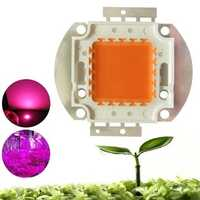 100W Full Spectrum 380-840nm COB LED Grow Light Chip DIY for Indoor Plant