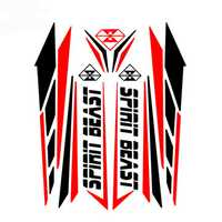 Motorcycle Sticker Motocross Feul Tank Pad Motorbike Protector For Honda/Yamaha/Kawasaki