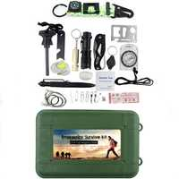 IPRee® 18 In 1 Outdoor EDC Survival Tools Kit SOS First Aid Case Emergency Multifunctional Box