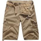 Acheter au meilleur prix Men's Outdoor Casual Striped Cotton Cargo Shorts