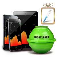 LUCKY FF916 50M 2.4GHz WiFi Fish Finder Portable Wireless Color Screen LCD Display Sonar Smart Fish Finder