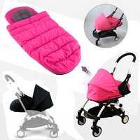 Folding Baby Stroller Sleeping Basket Infant Carriage Pushchair Sleep Pad Travel Car Stroller