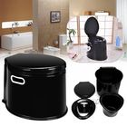 Les plus populaires Outdoor Travel Plastic 5 Litre Camp Toilet Portable Camping RV Caravan Commode With Paper Hook
