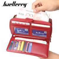 Baellerry Women Faux Leather Large Capacity Fashion Purse