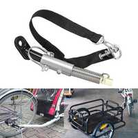 Universal Steel Bicycle Bike Trailer Baby/Pet Coupler Hitch Linker Connector Attachment