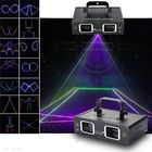 Meilleurs prix 2 Lens RGB Beam Laser Light DMX DJ Party Club Bar Show Stage Lighting AC110-240V