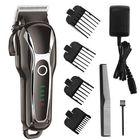 Meilleurs prix SURKER Barber Salon Electric Hair Clipper Rechargeable LED