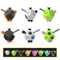 Magic Fidget Dice Relieves Stress Toys Anti Stress Autism ADHD For Children Adult Cube Gift Toys