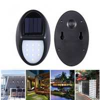 10 LED 600LM 1000mAh Solar Garden Light Solar Energy Light Waterproof Floodlight Lamp