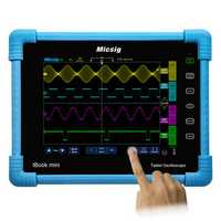 Micsig TO1104 100MHz Digital Tablet Oscilloscope 4CH 28Mpts 1GSa/s Oscilloscope Automotive Diagnostic Touch Screen with 8inch TFT LCD