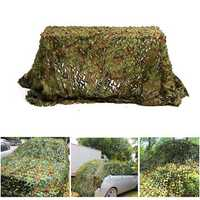 3mx3m Camo Camouflage Net For Car Cover Camping Military Hunting Shooting Hide
