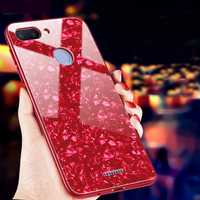 Bakeey Shell Bling Glossy Tempered Glass+TPU Protective Case for Xiaomi Redmi 6 / Xiaomi Redmi 6A