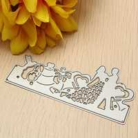Steel Wedding Cutting Dies Template DIY Scrapbook Embossing Paper Card Album