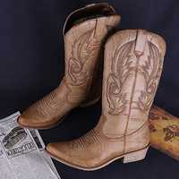 LOSTISY Vintage Cowboy Boots for Women