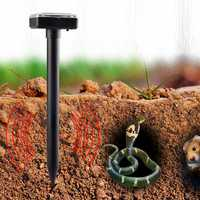Ultrasonic Solar Powered Sonic Pest Animal Repeller Outdoor Garden Rat Snake Repellent