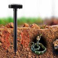 Ultrasonic Solar Powered Sonic Pest Animal Repeller Outdoor Garden Rat Snake Repellent