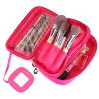 Women Nylon Large Capacity Functional Cosmetic Bag Travel Bag Storage Bag