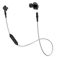 M2 bluetooth Sports Earphone Wireless Microphone Dual Units Moving Coils Sports Headset Fitness Earp