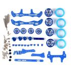 Recommandé 1 Set MA/AR Chassis Modification Set Kit With FRP Parts For Tamiya Mini 4WD RC Car Parts With Wheel
