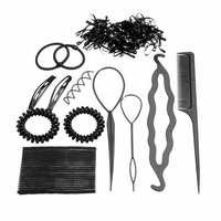 Pro Hair Maker Clip Hair Band Hairpins Styling Accessories Tools Kit