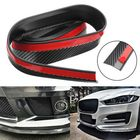 Discount pas cher 2.5M Carbon Fiber Color Car Front Bumper Spoiler Lip Splitter Protector Auto Trim Sticker Universal