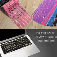 Keyboard Cover Protector For Dell XPS 15 15-9550 / inspiron 14CR 14MR 14SR