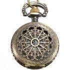 Flash Offers DEFFRUN Vintage Steam Punk Quartz Bronze Pocket Watch