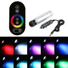 Meilleurs prix 6W RGB LED Fiber 0ptic Night Light + RF Remote Control for Car Vehicle Party Stage Bar Decoration DC12V