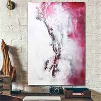 Modern Abstract Canvas Oil Print Paintings Home Wall Poster Decor Unframed