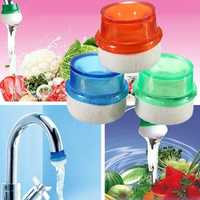 Mini Household Plug Water Filter Purifier Clean Simple Faucet Tap Foam Kitchen Washing Fruit Vegetables Home