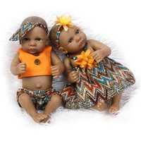 27cm NPK Bebe Reborn Dolls Realistic Full Silicone Baby Boy Doll Alive Baby Dolls