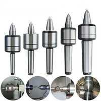 MK1/MK2/MK3/MK4/MK5 60 Degree Live Milling Center Tool Precision Morse Taper Bearing Lathe Turning Revolving