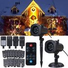 Discount pas cher 12 Patterns 4W LED Remote Projector Stage Light Moving Laser Spotlightt for Christmas Halloween