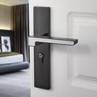 Les plus populaires Interior Bedroom Modern Solid Wooden Room Universal Door Lock Luminous Mute