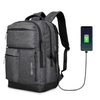 Mark Ryden MR9188 15.6 Inch Laptop Backpack USB Charging Three-layer Laptop Bag Mens Shoulder Bag Business Casual Travel Backpack
