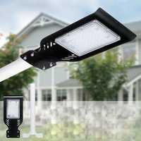 50W LED Street Light 4000LUM Super Bright Outdoor Garden Path Road Lamp