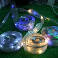 KCASA DSL-4 Gardening 4M 40LED String Light Ribbon Shape Holiday Garden Party Wedding Decoration