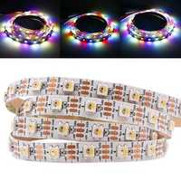 1M 5M WS2812B 5 Pins RGBW RGBWW 4 IN 1 LED Strip Light Non-Waterproof DC5V