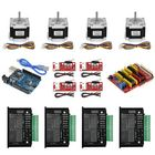 Acheter au meilleur prix TWO TREES® UNO CNC Kit with Controller + Shield + Nema 23 Stepper Motors + TB6600 + Limited Switches