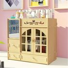 Bon prix Makeup Organizer Cosmetic Storage Box Drawer Case Brush Lipstick Organizer Desktop Holder