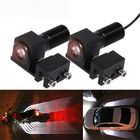 Promotion CNSUNNYLIGHT Car/Motorcycle LED Decoration Lights Emergency Signal Wings Lamp Projector Fog Warning