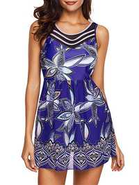 Quick-drying Printing Fashion Sexy One Pieces Swimsuit